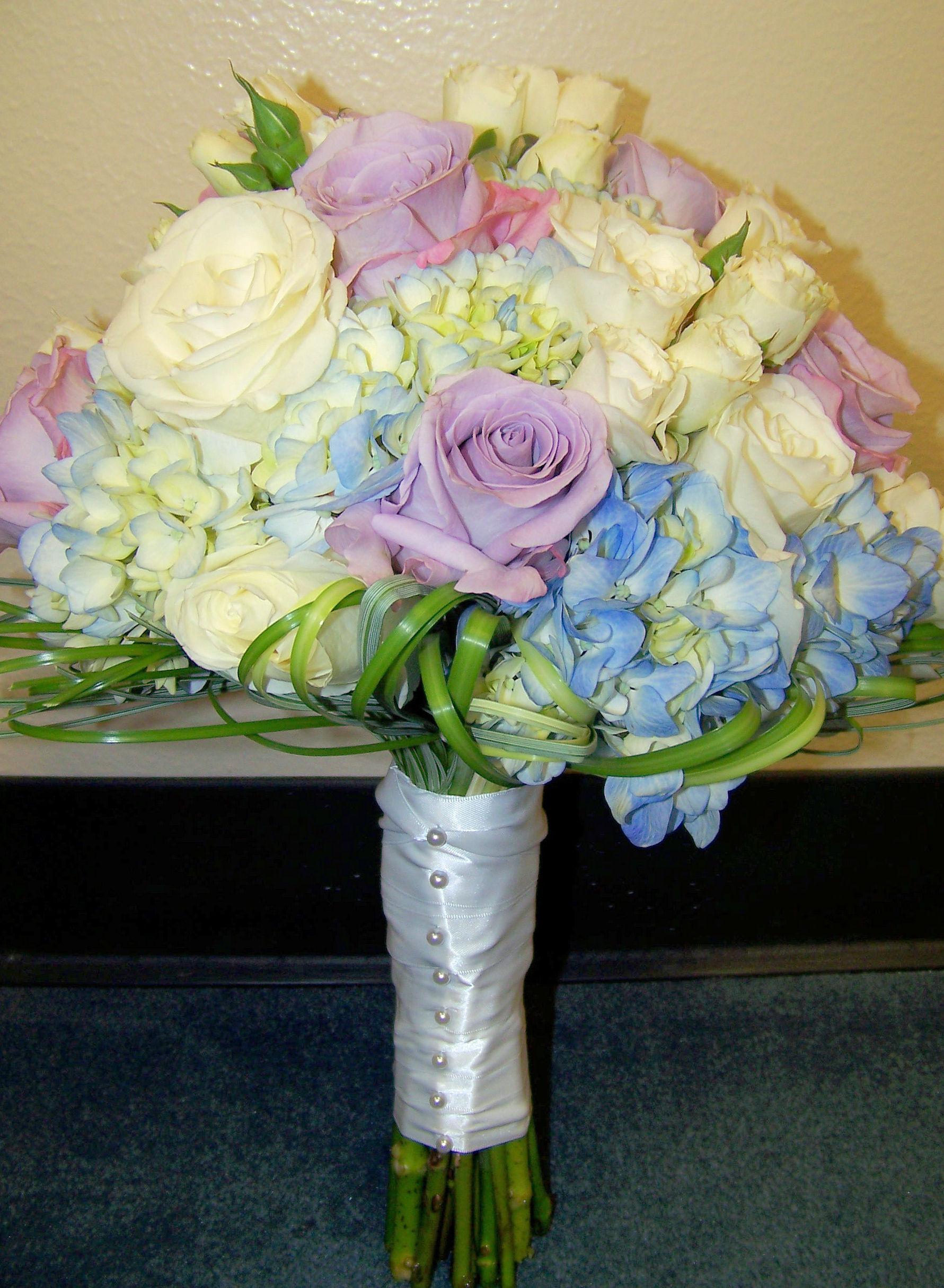 Purple And Blue Wedding Flowers Lz Floral S Blog