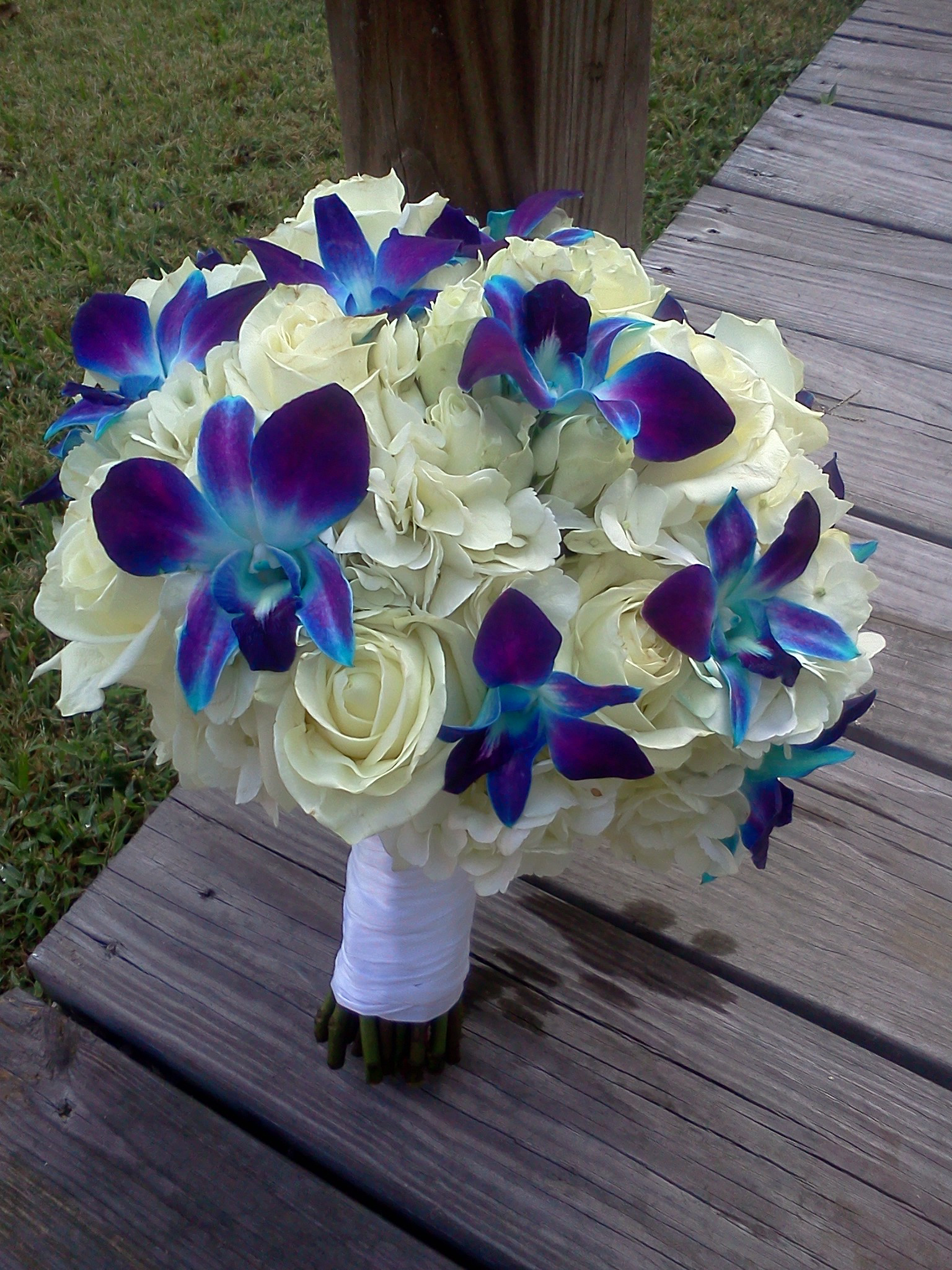 Purple and Blue wedding flowers | LZ Floral\'s Blog