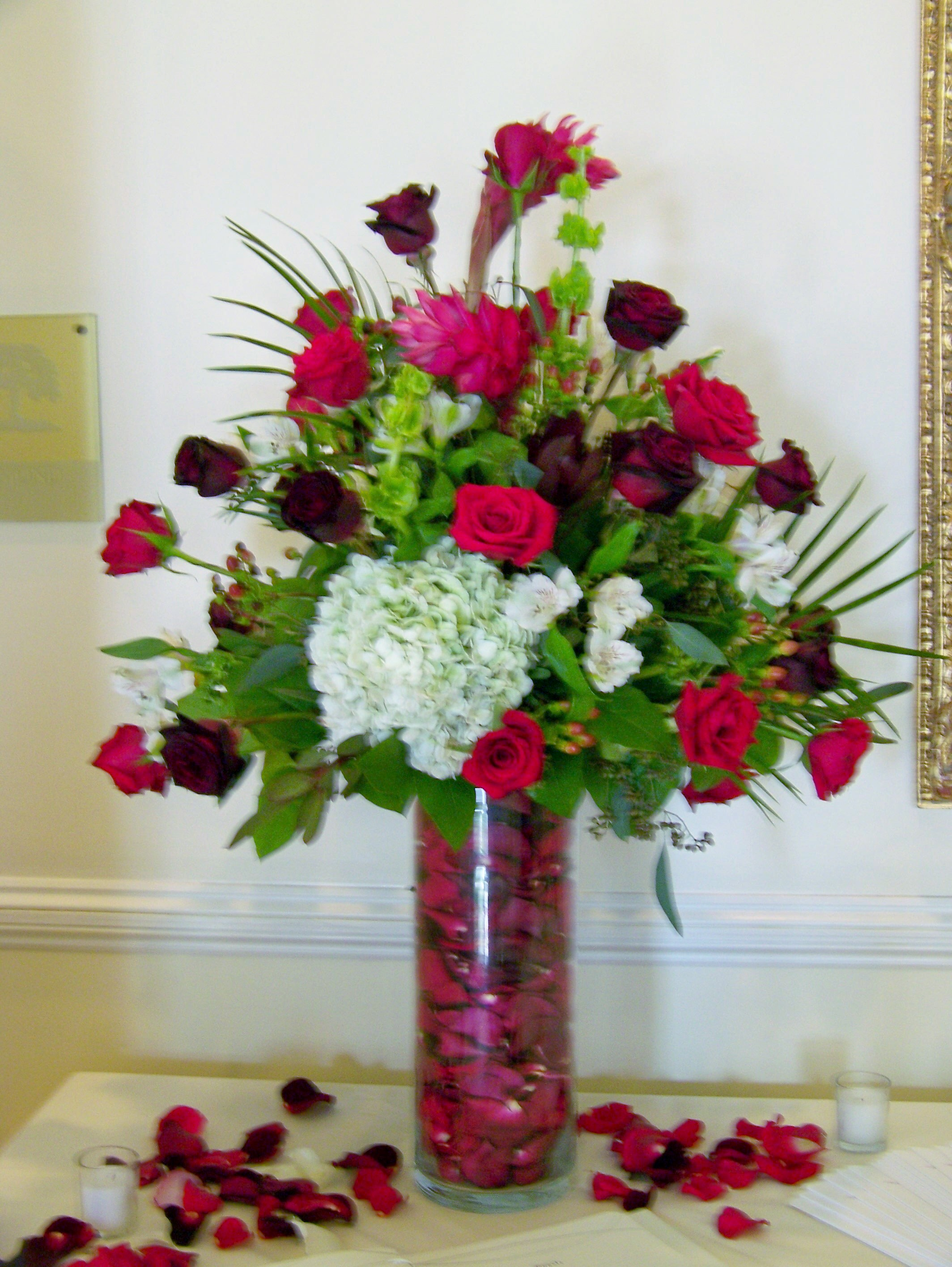 Very best What do you do with that large glass vase? | LZ Floral's Blog YB48
